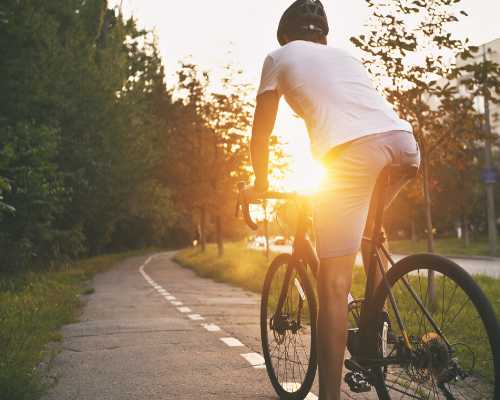 Riding bicycle can improve your health